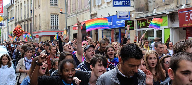 Marche des fiertés 2013